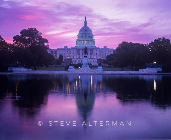 01 Sunrise, US Capitol, Washington, DC