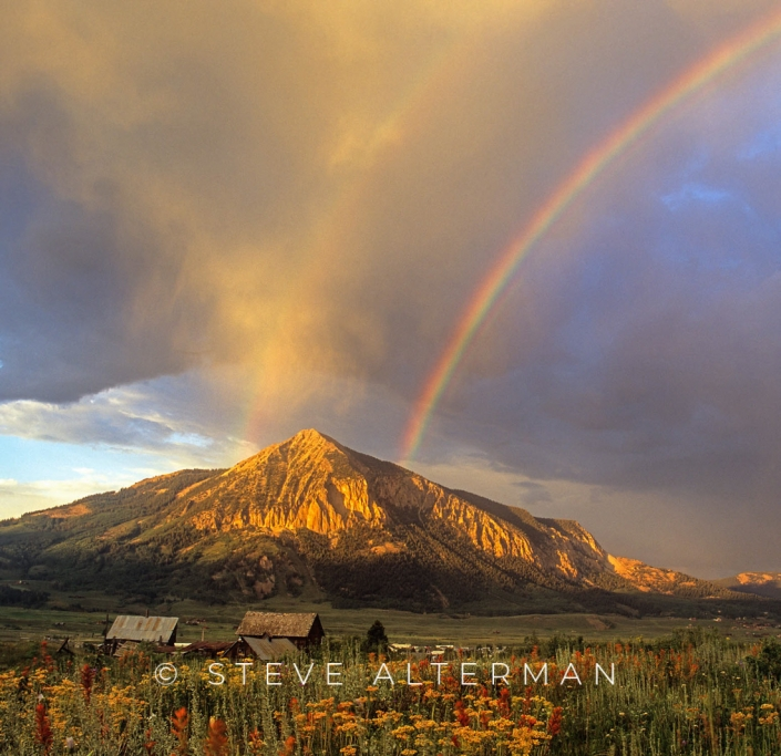 101 Crested Butte Rainbow, Colorado