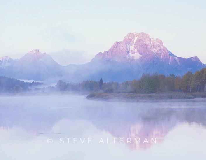 106 Foggy Morning, Oxbow Bend, Grand Teton National Park