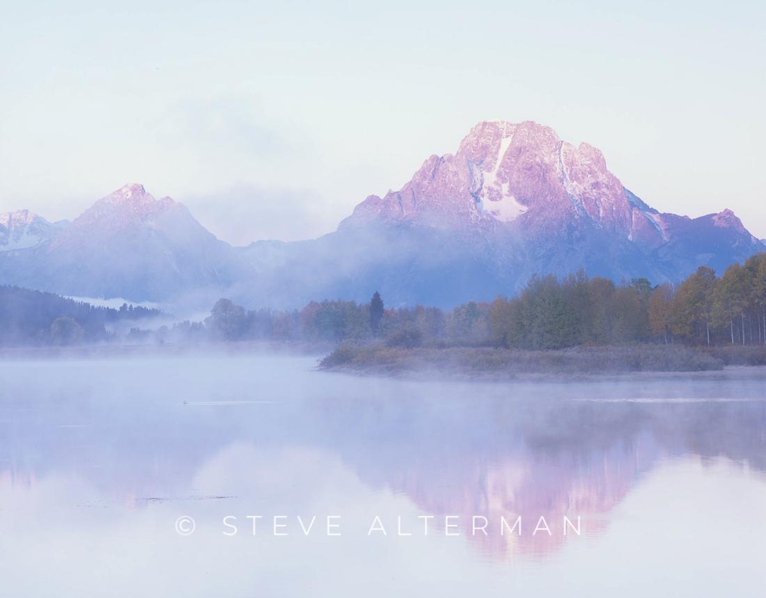106 Foggy Morning, Oxbow Bend, Grand Teton National Park