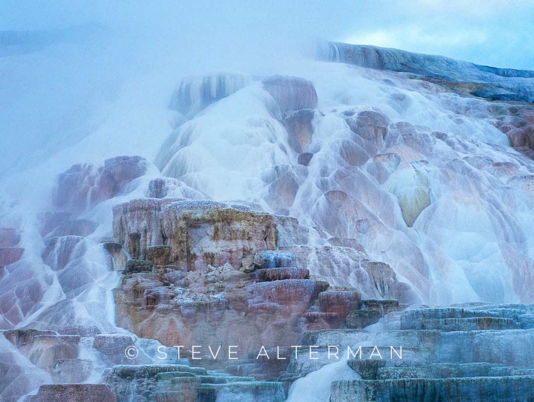 115 Mammoth Hot Springs, Yellowstone National Park