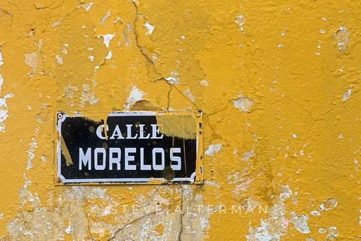 25 Street Sign, Nogales, Sonora, Mexico