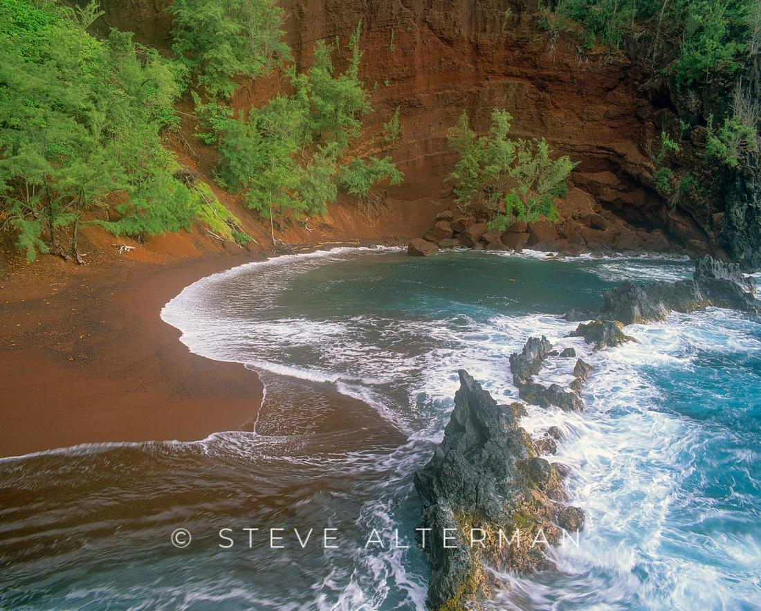 304 Red Sand Beach, Hana, Maui