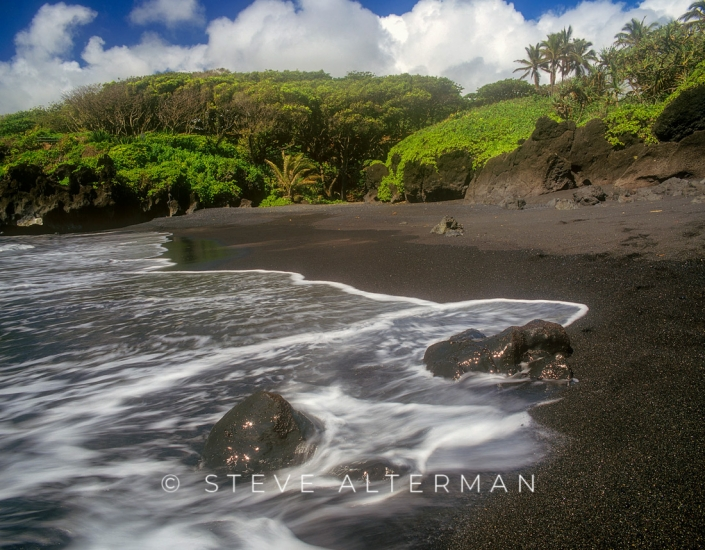 306 Waianapanapa Black Sand Beach, Maui