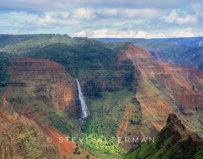 328 Waipoo Falls, Waimea Canyon, Kauai
