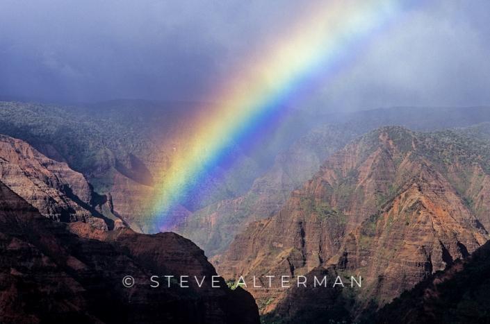 329 Waimea Canyon Rainbow, Kauai