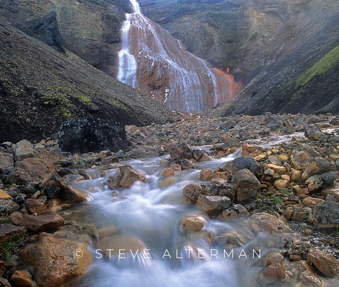 413 Raudufossar, Fjallabak Nature Reserve