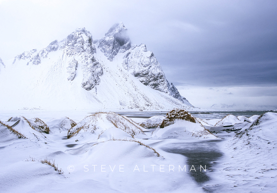438 Westrahorn in Winter, Stokksnes Peninsula