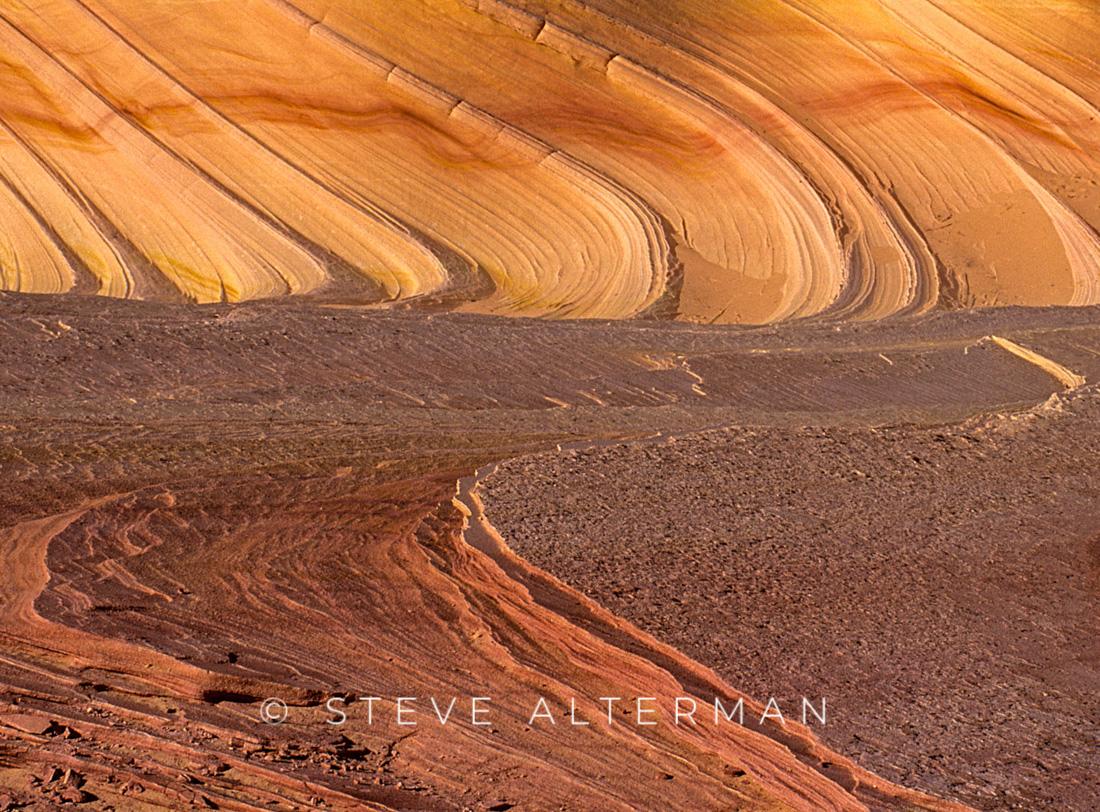 518 Rock Swirls, Coyote Buttes, Vermilion Cliffs National Monument