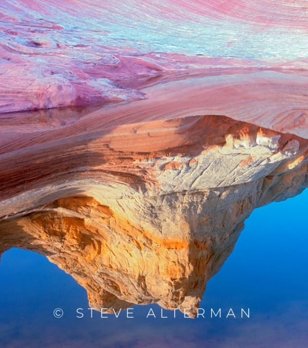 523 White Pocket Reflection, Vermilion Cliffs National Monument