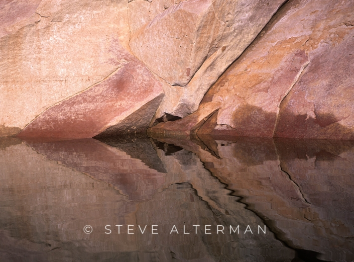 529 Llewellen Gulch Reflection, Glen Canyon National Recreation Area
