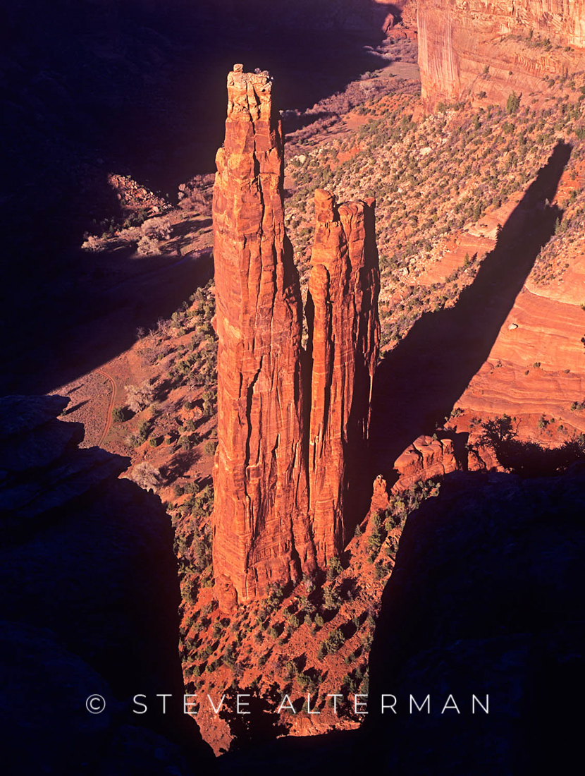534 Spider Rock, Canyon de Chelly National Monument
