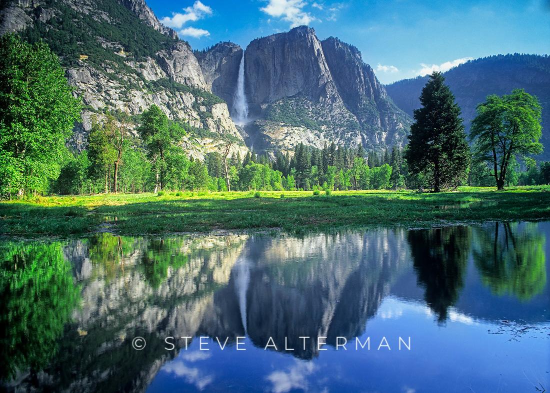 613 Yosemite Valley Reflection, Yosemite National Park