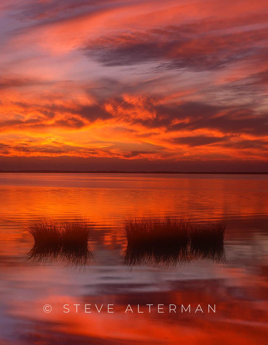 826 January Sunset - Duck, North Carolina